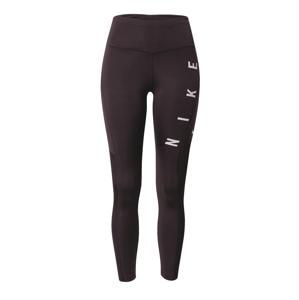 NIKE Sportovní kalhoty 'Epic Fast Run Division'  černá / bílá