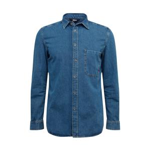 DIESEL Košile  modrá džínovina