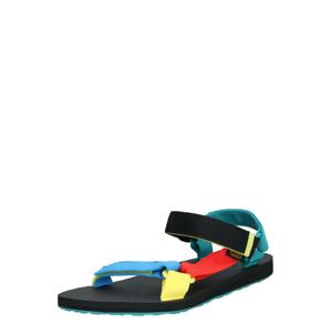 TEVA Sandály  modrá / černá / červená