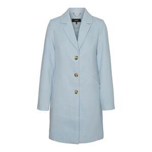 VERO MODA Přechodný kabát 'Cala Cindy'  nebeská modř