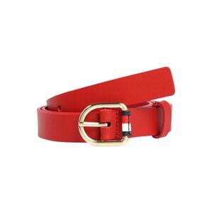 TOMMY HILFIGER Opasek 'Corporate Belt 2.5'  červená