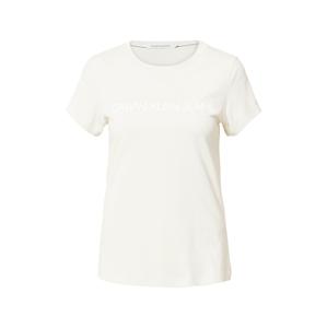 Calvin Klein Jeans Tričko  béžová