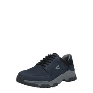CAMEL ACTIVE Sportovní šněrovací boty 'Zodiac'  marine modrá / čokoládová
