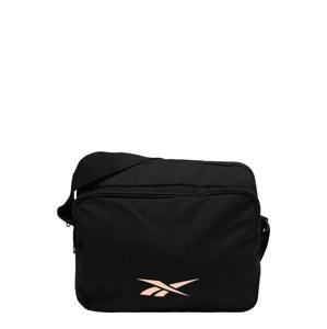 REEBOK Sportovní taška  černá / růžově zlatá