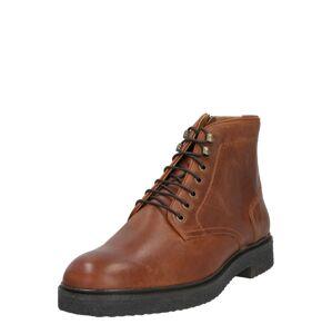 Hudson London Šněrovací boty 'Jennings'  hnědá