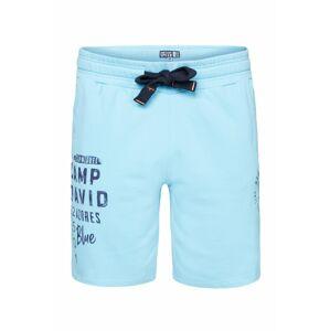 CAMP DAVID Kalhoty  enciánová modrá / světlemodrá