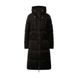 Superdry Zimní kabát  černá