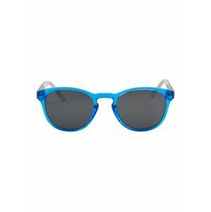 PUMA Sluneční brýle 'PJ0025S Sunglass KID INJECTION'  stříbrná / modrá