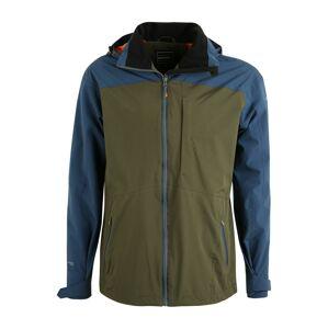 ICEPEAK Zimní bunda 'BANTRY'  tmavě modrá / olivová