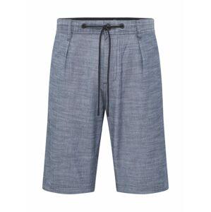 BOSS Kalhoty se sklady v pase 'Symoon'  tmavě modrá