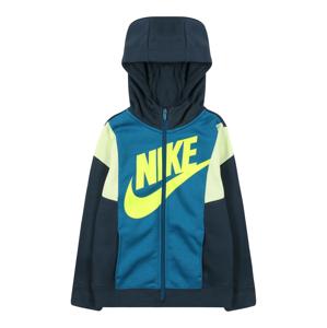 Nike Sportswear Mikina 'Amplify'  nebeská modř / petrolejová / bílá / žlutá