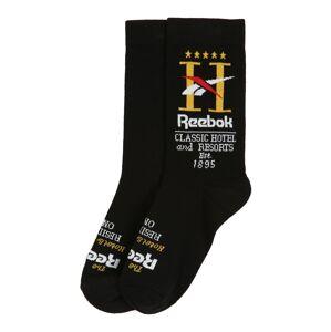 Reebok Classic Ponožky 'CL Hotel Sock BLACK'  černá