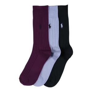 POLO RALPH LAUREN Ponožky 'EGYPT'  námořnická modř / lenvandulová / bobule