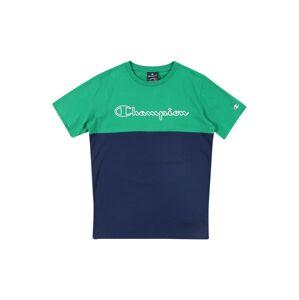 Champion Authentic Athletic Apparel Tričko  bílá / zelená / modrá