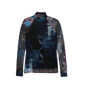 Desigual Tričko 'Vanessa'  modrá / mix barev