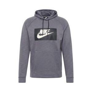 Nike Sportswear Mikina 'OPTIC'  tmavě šedá / černá / bílá