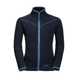 JACK WOLFSKIN Funkční flísová bunda 'Sandpiper'  kouřově modrá / noční modrá