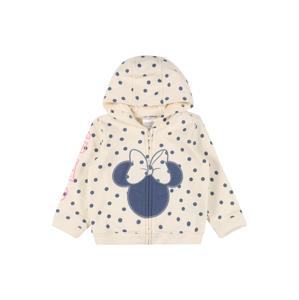 GAP Mikina s kapucí 'DIS ARCH'  offwhite / chladná modrá / pink