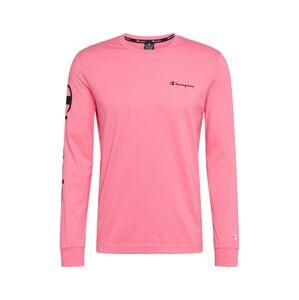 Champion Authentic Athletic Apparel Tričko  pink / černá