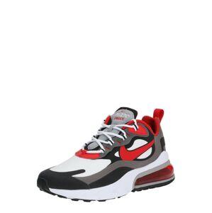 Nike Sportswear Tenisky 'Air Max 270 React'  černá / červená / bílá / šedá