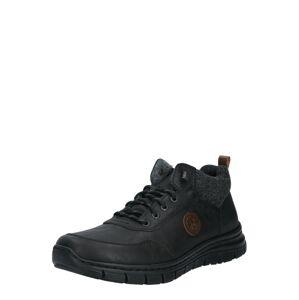 RIEKER Šněrovací boty  černá