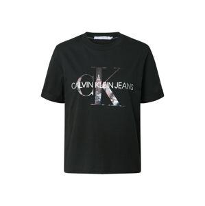 Calvin Klein Jeans Tričko 'New York'  černá