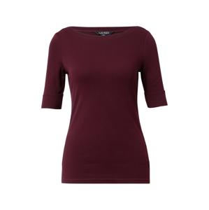 Lauren Ralph Lauren Tričko 'JUDY'  vínově červená
