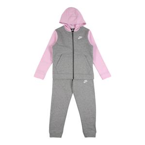 Nike Sportswear Joggingová souprava  růžová / šedá