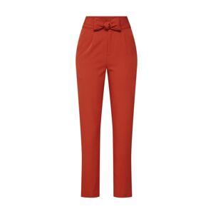 Fashion Union Kalhoty se sklady v pase 'MISON TROUSERS'  ohnivá červená