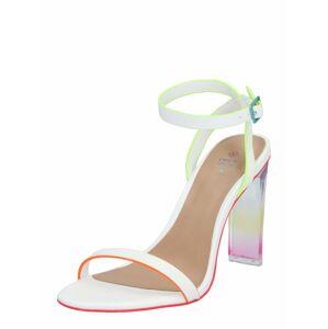 CALL IT SPRING Páskové sandály 'Hayvenn'  bílá / mix barev