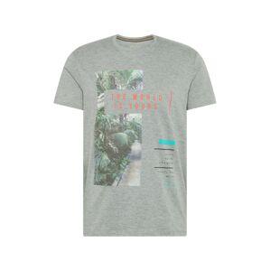 ESPRIT Tričko  šedá / mix barev