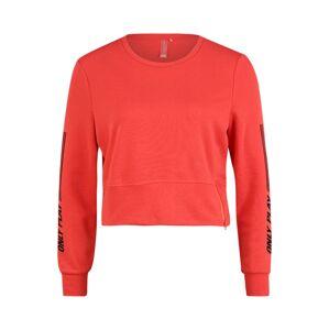 ONLY PLAY Sportovní svetr 'Shelly'  červená / černá
