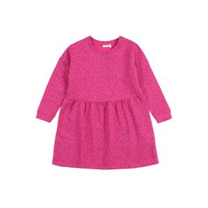 NAME IT Šaty 'NMFVOLTA'  pink / černá