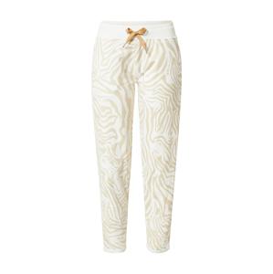 Key Largo Kalhoty  bílá / velbloudí