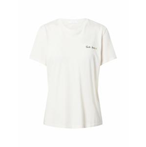 Boyish Tričko 'LENNON'  bílá / černá
