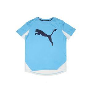 PUMA Funkční tričko 'Active Sports Cat'  bílá / světlemodrá / marine modrá