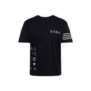 BOSS Tričko 'Free'  černá