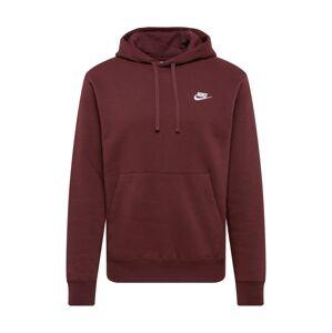 Nike Sportswear Mikina 'Club'  vínově červená