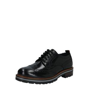 base London Šněrovací boty 'COLVER'  černá