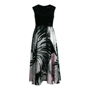 SWING Curve Šaty  růžová / černá