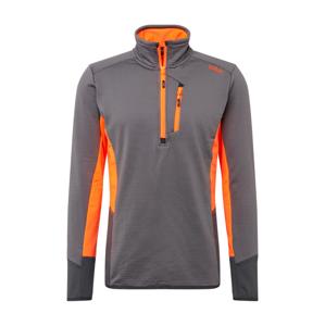 CMP Funkční tričko  tmavě šedá / oranžová