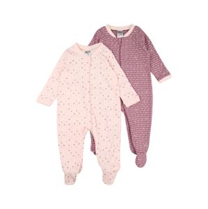 JACKY Pyžamo  fialová / růžová