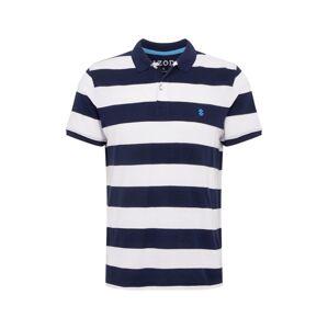 IZOD Tričko  tmavě modrá / bílá