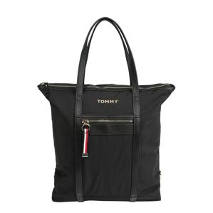 TOMMY HILFIGER Nákupní taška  černá