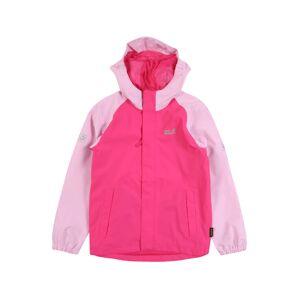 JACK WOLFSKIN Outdoorová bunda 'Tucan'  růžová / svítivě růžová