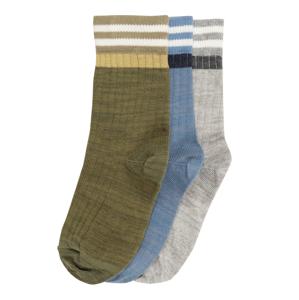 mp Denmark Ponožky 'Alf'  tmavě zelená / modrá / šedá
