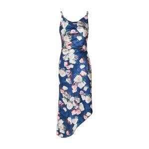 Chi Chi London Letní šaty 'Elysha'  námořnická modř / mix barev