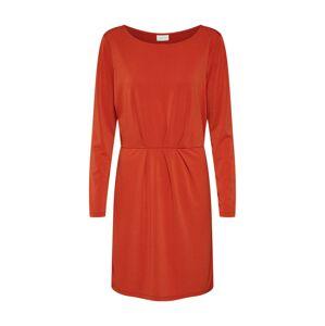 VILA Šaty 'CLASSY'  rezavě červená