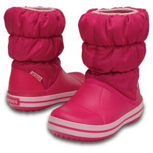Crocs Sněhule  pink / bílá