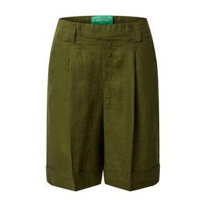 UNITED COLORS OF BENETTON Kalhoty s puky  khaki